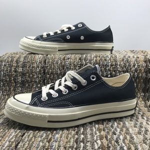 Black Chuck 70 Low Sneakers